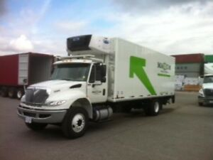 2016 International 4300 4x2, Used Reefer Van