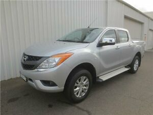 2013 Mazda BT-50 UP0YF1 XTR Silver 6 Speed Sports Automatic Utility Cardiff Lake Macquarie Area Preview