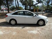 2012 Holden Cruze JH Series II MY12 CD White 6 Speed Sports Automatic Sedan Beverley Charles Sturt Area Preview