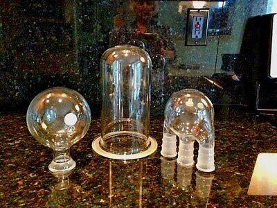 Laboratory Glassware 3 Neck Flask Reaction Vessel Round Bottom Flask -vtg