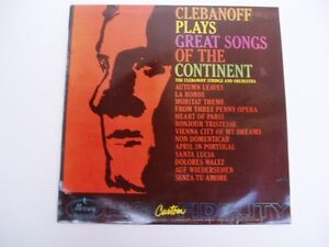 Clebanoff-Plays-Great-Songs-Of-The-Continent-LP