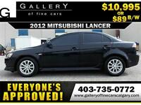2012 Mitsubishi Lancer SE $89 BI-WEEKLY APPLY NOW DRIVE NOW