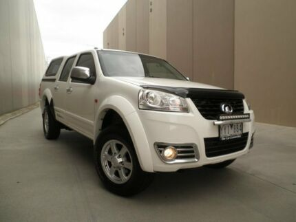 2011 Great Wall V240 K2 MY11 White 5 Speed Manual Utility Heatherton Kingston Area Preview
