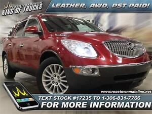2012 Buick Enclave CXL Leather | AWD | PST PAID