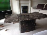 Wanted NEW AlFrank Austin Range Brown marble Coffee Table
