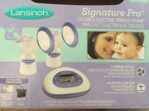 Lansinoh double electric breast pump(almost new)