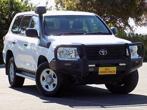 2013 Toyota Landcruiser VDJ200R MY13 GX White 6 Speed Sports Automatic Wagon Blair Athol Port Adelaide Area Preview
