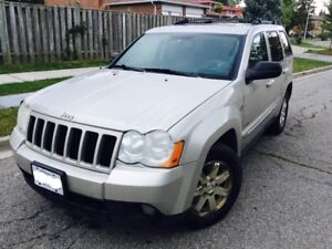 2008 Jeep Grand Cherokee V6,Diesel,Leather SUV, Crossover