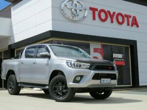 2018 Toyota Hilux GUN126R SR5 Double Cab Silver 6 Speed Sports Automatic Utility Greenway Tuggeranong Preview