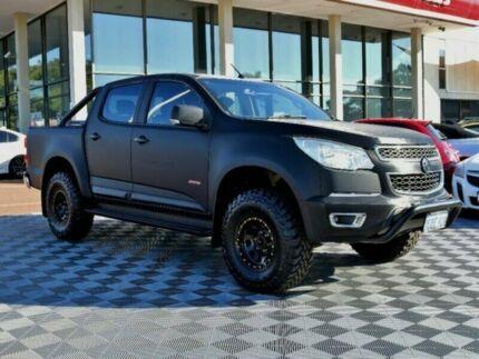 2012 Holden Colorado RG MY13 LX Crew Cab Black 6 Speed Sports Automatic Utility