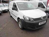 Volkswagen Caddy 1.6 TDI 102PS STARTLINE MAXI VAN DIESEL MANUAL WHITE (2015)