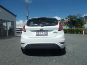 2015 Ford Fiesta WZ MY15 Ambiente PwrShift Frozen White 6 Speed Sports Automatic Dual Clutch Mount Pleasant Mackay City Preview