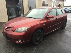 2006 Mazda Mazda3 GS**5 MANUAL**ONLY136KM**HATCHBACK**SNOW TIRES London Ontario image 4