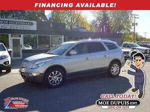 2011 Buick Enclave CXL2,AWD,LEATHER,SUNROOF,DVD!!