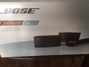 Bose CineMate GS Series II Digital Home Theater (NEW)