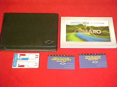 Service Manual-kit (2001 NEW CHEVROLET CAMARO ORIGINAL OWNERS SERVICE GUIDE MANUAL KIT + CASE 01 OEM)