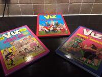 SET OF VIZ BOOKS