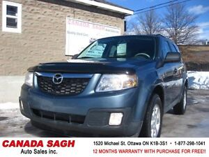 2010 Mazda Tribute AWD with 139km !! 12M.WRTY+SAFETY $8500