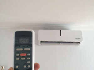 AIR CONDITIONERS OR HEAT PUMPS. CENTRAL AND WALL UNITS AVAILABLE West Island Greater Montréal image 2