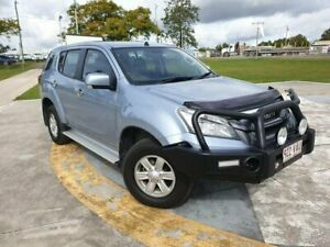 2014 Isuzu MU-X MY14 LS-M Rev-Tronic Silver 5 Speed Sports Automatic Wagon Gympie Gympie Area Preview