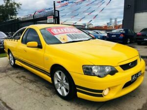 2006 Ford Falcon BF XR6T 6 Speed Manual Utility Brooklyn Brimbank Area Preview