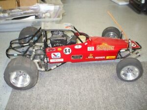 VINTAGE 1/4 SCALE PACESETTER GRIZZLY RC GAS BUGGY