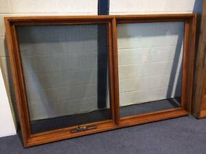 AWNING WINDOWS, SOLID CEDAR TIMBER AW05, 1930X1200H, 6MM GLASS Vineyard Hawkesbury Area Preview