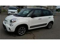 2014 Fiat 500L Trekking Turbo Nav/pano roof/Ext Warranty