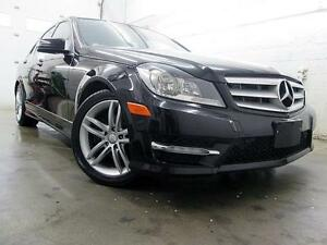 2012 Mercedes-Benz C250 4MATIC NAVIGATION CUIR TOIT 69,000KM
