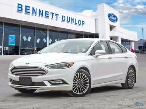 2017 Ford Fusion SE-AWD-Moon Roof-Nav-Heated Leather Seats