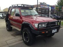 1992 Toyota Landcruiser  Maroon Manual Wagon Williamstown North Hobsons Bay Area Preview