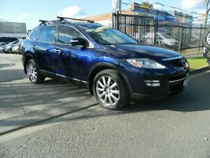 2009 Mazda CX-9 Luxury Blue 6 Speed Auto Activematic Wagon Williamstown North Hobsons Bay Area Preview
