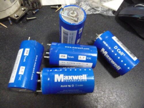 Low-Z Strap for Maxwell Super Farad Ultra Capacitor BCAP P270 K04 /< 50uOhm