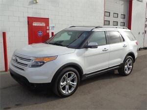 2014 Ford Explorer Limited AWD ~ NAV ~ Remote start ~ $27,999