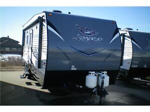 26 FT JAYCO OCTANE 222 TOY HAULER TRAVEL TRAILER
