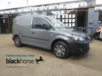 2011 Volkswagen Caddy C20 Bluemotion 1.6TDi 102ps No VAT A/C Diesel grey Manual