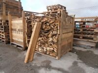 RECLAIMED TIMBER PALLET BOARDS 1m. LONG SOLD IN LOTS OF TEN £3.00