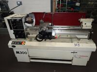 HARRISON M300 GAP BED CENTRE LATHE 40 INCH