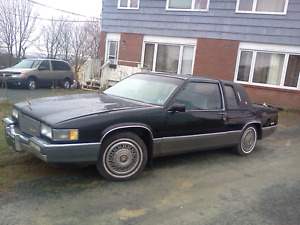 1989 cadillac coupe deville