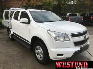2015 Holden Colorado RG MY15 LS (4x2) White 6 Speed Automatic Crew Cab Chassis Lisarow Gosford Area Preview