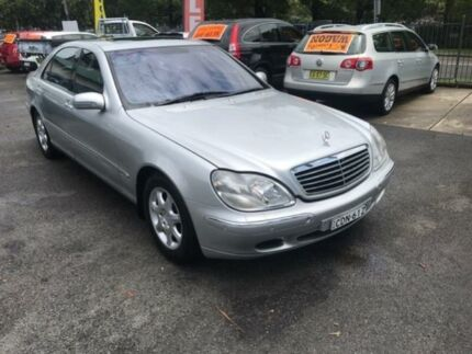 2000 Mercedes-Benz S430 W220 Silver 5 Speed Automatic Sedan Sutherland Sutherland Area Preview