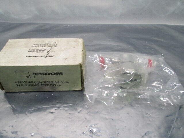 Tescom PV73R9K-107 Diaphragm Valve, 250 PSI, 15257-00, 453762