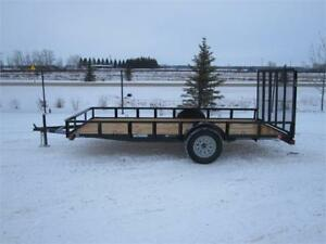 2018 SINGLE AXLE UTILITY TRAILER 14FT (3500LBS GVW)