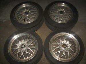 245/45/17 VR RAYS MAGS + TIRES JDM 235-45-17 MAG WHEEL 5X114.3