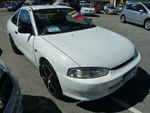 1999 Mitsubishi Lancer CE GLi White 5 Speed Manual Coupe Wangara Wanneroo Area Preview