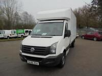 Volkswagen Crafter 2.0 Tdi 136Ps LUTON WITH TAIL LIFT DIESEL MANUAL WHITE (2016)