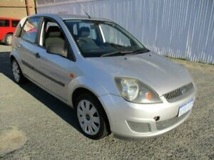 2007 Ford Fiesta Silver Manual Hatchback West Perth Perth City Area Preview