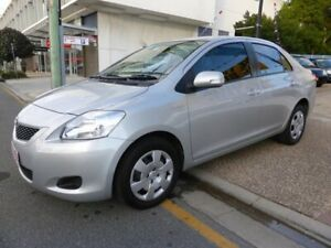 2008 Toyota Yaris NCP93R YRS Silver 4 Speed Automatic Sedan Southport Gold Coast City Preview