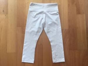 Lululemon Lot Sale - wunder under crop dune gingham size 4