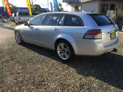 2012 Holden Commodore VE II MY12.5 Omega Silver 6 Speed Automatic Sportswagon